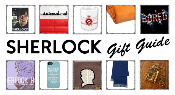 Perfect selection of holiday gifts for BBC Sherlock fans
