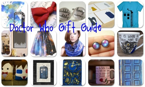 Doctor Who Gift Guide 2012 - perfect holiday gifts for your whovian friends!