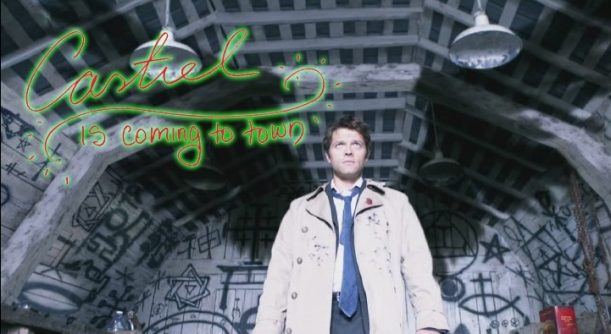 Castiel is Coming to Town (a SUPERNATURAL christmas carol)