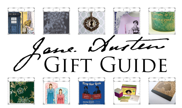the ultimate jane austen gift guide 2012 - perfect gifts for the holidays, if your friends are into pride & prejudice, sense & sensibility, etc