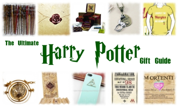 Harry Potter Holiday Gift Guide 2012 - what to get your friends if they want to go to hogwarts