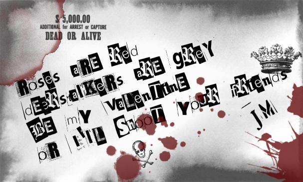 Jim Moriarty Valentine - Sherlock