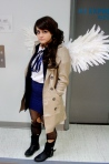This fem!Cas made our hearts pop out of our chests... quite literally.  Cosplayer: Ali Chimelis - princessrats.tumblr.com