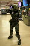 Master Chief cosplay we are extremely impressed by~
