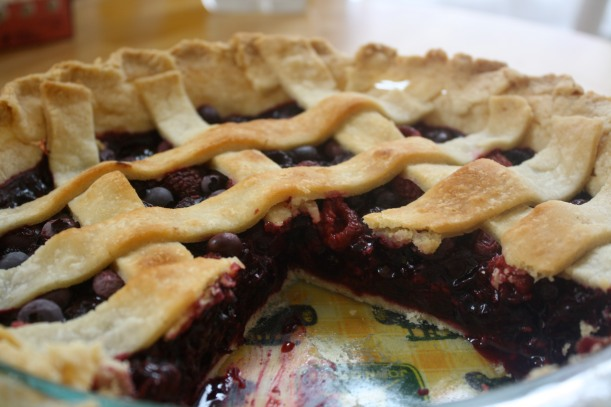 Recipe: Dean Winchester Approved Berry Pie