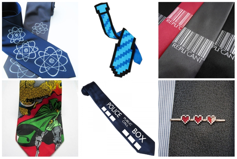 Perfect ties for geek dads