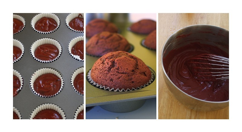 True Blood inspired Red Velvet Cupcakes