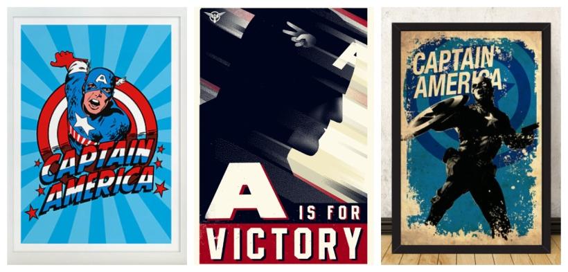 Captain America Fourth of July Decor Ideas