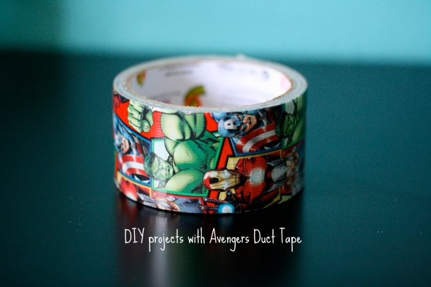 DIY Projects With Avengers Duct Tape