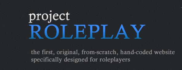 Logo belongs to projectroleplay.com