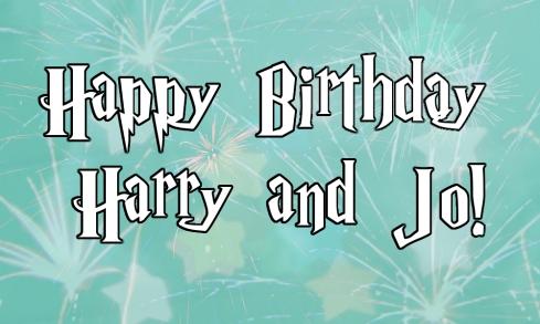 Happy Birthday Harry & Jo