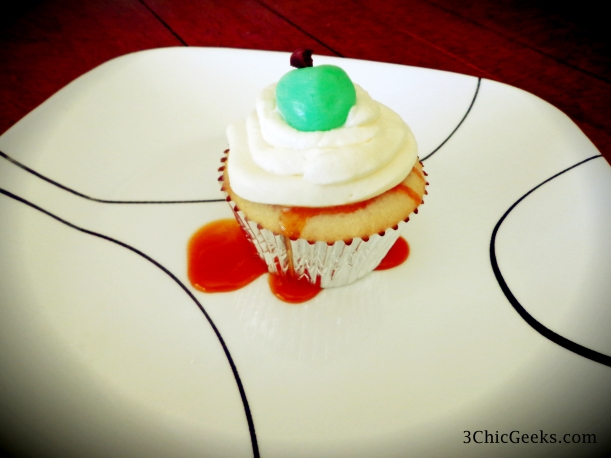 Recipe: Caramel Drapple Cupcakes