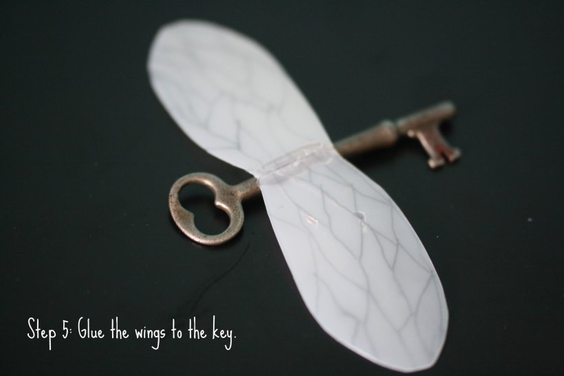 Step 5, Harry Potter Winged Keys