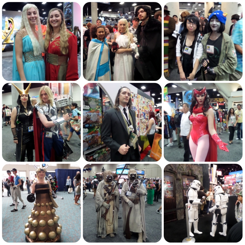SDCC collage