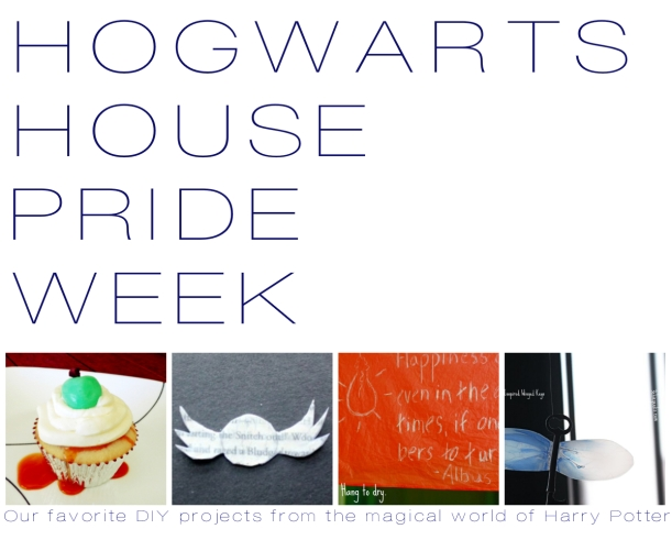 Hogwarts House Pride Week - Our Favorite DIY Projects from the Magical World of Harry Potter