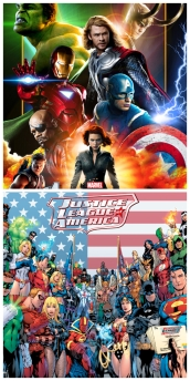 Justice League vs Avengers fan poll fandom wars vote now