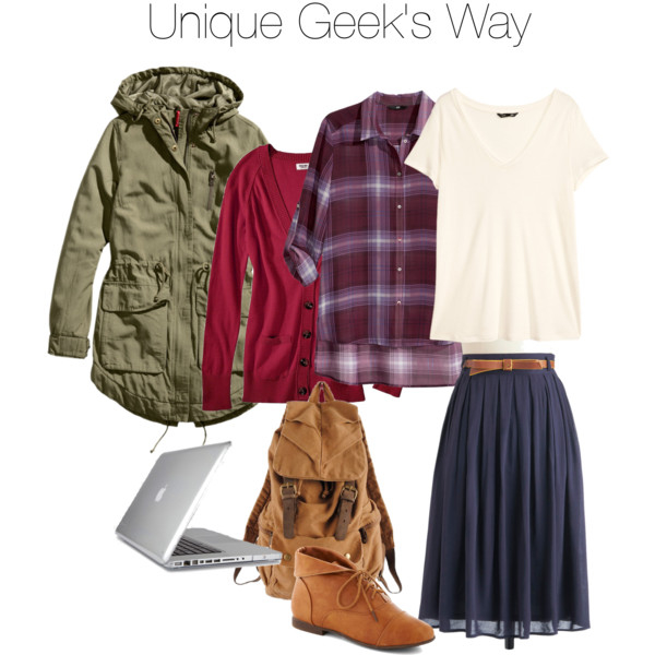 SPN Inspired Fashion, Unique Geek's Sam inspired look