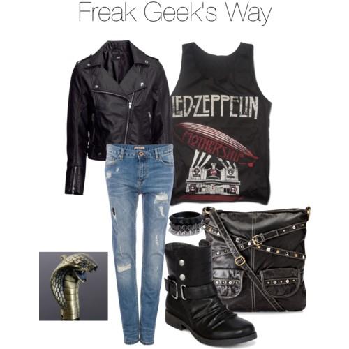 Supernatural Inspired Fashion, Freak Geek's Dean inspired look