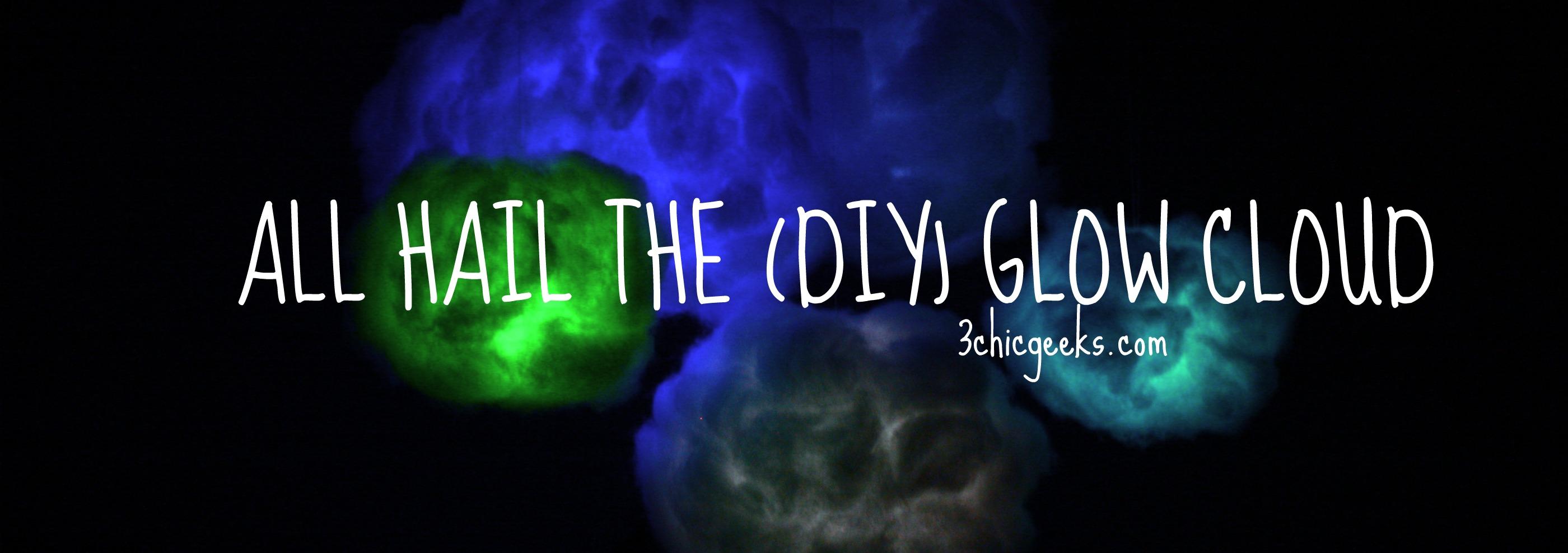 diy glow cloud three chic geeks