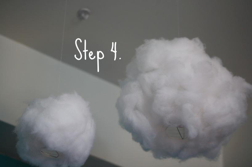 DIY Glow Cloud Step 4
