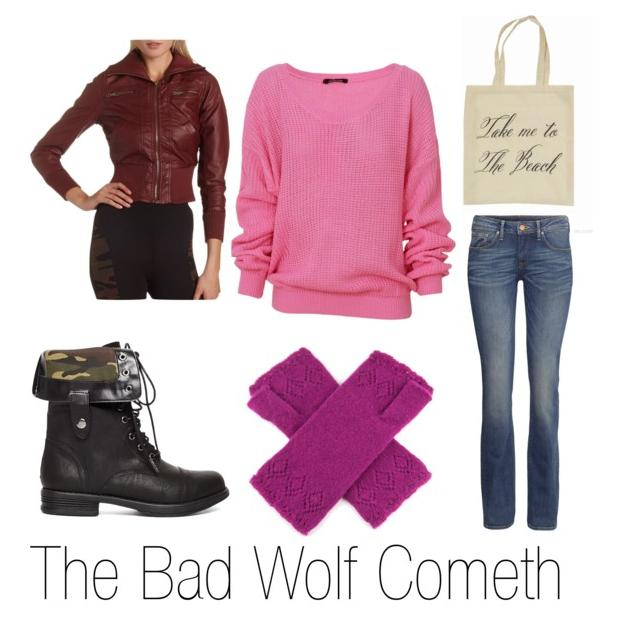 Doctor who Inspired fashion - Freak geek's Way - The Bad Wolf Cometh