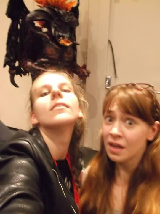 Balrog selfies!