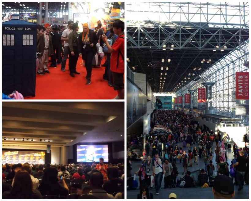 NYCC 2013: yes, it was that crowded.