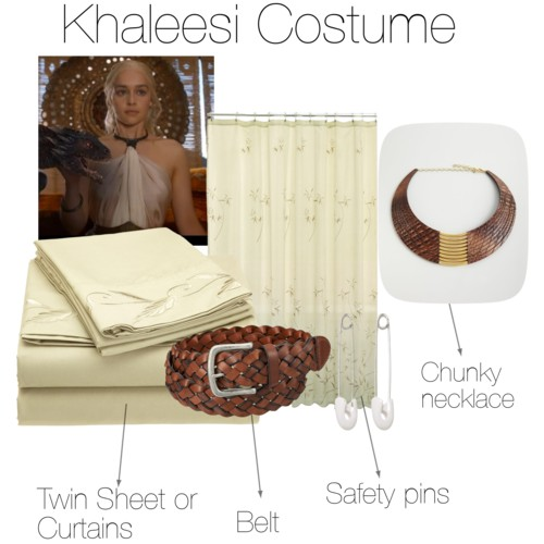 Khaleesi dress supplies
