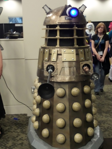 One attendee made a remote control Dalek. It was crazy and amazing.